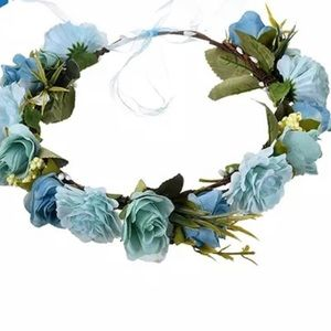 Preloved flower 🌸 crown for pregnancy 🤰🏻photos